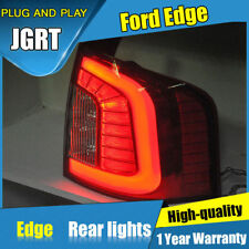 JGRT For Ford Edge Dark / Red LED Rear Lights Assembly LED Tail Lamps 2011-2014