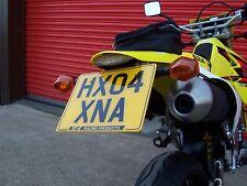 R&G Tail Tidy/Licence/Number Plate Holder Suzuki DRZ400 Supermoto 2009 LP0018BK
