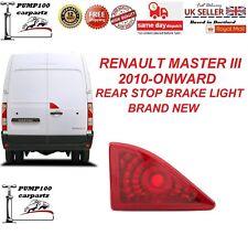 RENAULT MASTER MK3 2010-ONWARD REAR  DOOR STOP 3RD BRAKE LIGHT LAMP NEW UK STOCK