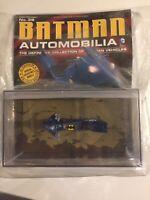 Batman~ Automobilia~ Eaglemoss~ #38~ BATCYCLE~ Legends of The Dark Knight~ New