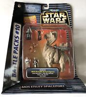 NEW Star Wars Micro Machines Action Fleet Mos Eisley Spaceport Pack #10 Galoob