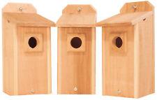 3 BlueBird Houses with Predator Guard Bird Houses
