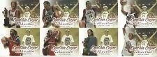 2000 WNBA FLEER DOMINION * CYNTHIA COOPER COLLECTION * 8 CARD INSERT SET