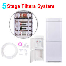 5Stage Cleaning Filters Self Hot/Cold Water Home Warmer Bottleless Dispenser Us.