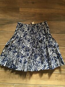 NWT Tommy Bahama Grapevine Skirt 4484-downpour Size 4