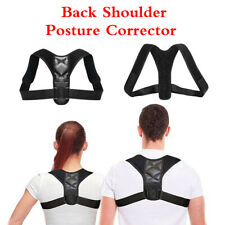 Posture Corrector Adjustable Back Shoulder Belt Support Body Back Brace Unisex