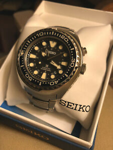 "Seiko Prospex ""Tuna"" GMT Kinetic Luxe Diver's Watch SUN019"