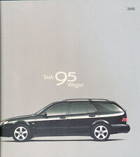 2000 SAAB 95 9-5 Wagon 54-page Original Car Sales Brochure Catalog
