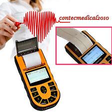 NEW CONTEC 1-Channel 12-leads ECG EKG MACHINE électrocardiographe Logiciel PC