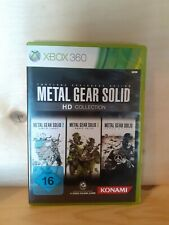 Xbox360 Spiele Metal Gear Solid HD Collection
