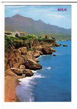 Postcard: Calahonda Beach, Nerja, Costa del Sol, Spain