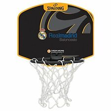 Tablero de Baloncesto Pequeño Diseño Real Madrid Spalding Con Mini Pelota New