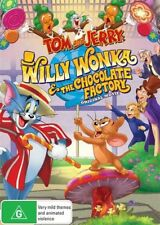 Tom And Jerry - Willy Wonka & The Chocolate Factory (DVD, 2017) New & Sealed R4