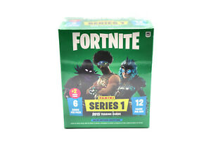 Panini Fortnite Series 1 - Mega Blaster Box inkl. 2 Crystal Shards
