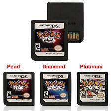 Pokemon Game Card for Nintendo 3ds DSi NDS NDSL Lite Platinum Diamond US Version