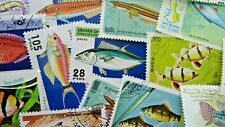 Thematic pack x 100 Fish and Marine mainly MNH & CTO FREE DELIVERY