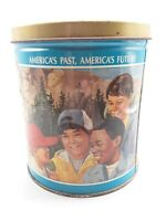 Tin Can canister TRAILSEND GOURMET POPCORN  Vintage Limited edition Boy scouts