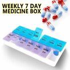 Weekly Pill Box Organizer Twice a Day 7 day AMPM Organizer Case Medicine Storage