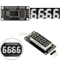 "White 0.36"" inch TM1637 4-Bits Digital LED Clock Tube Display for Arduino"