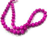 Muscheln Perlen 4mm Lila Perlmutt 1 Strang Kugel 65stk Schmucksteine U51