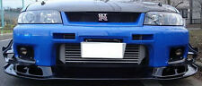 Pop Front Bumper Bottom Lip Splitter Kits For Nissan R33 GTR AS Style FRP Parts