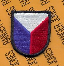6th SOCCE Special Operations Cmd & Ctrl Element Airborne beret flash patch #2B