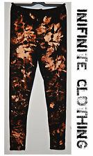 Tie dye leggings handmade bleached scrunchy acid wash hipster Indie retro 90s