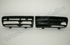 99-04 VW Golf mk4 Lower Bumper Grill Black Grille Pair