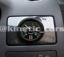 Carbon effect Heater vent gauge pod panel Ford, universal