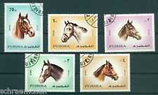 Fujeira 810 - 814 , o , Motiv Pferde