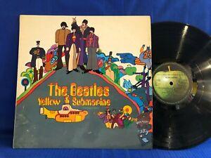 THE BEATLES YELLOW SUBMARINE PCS 7070 ORIGINAL UK LP EXC