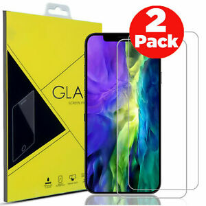 Tempered Glass Screen Protector For iPhone 13 12 11 Pro Max Mini XR X X MAX Case