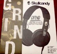 Skullcandy Grind On-Ear Stereo Headphones w/Mic & Remote (Black)