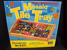 Creativity for Kids Mosaic Tile Tray NEW Family Project Homeschool Crafts Arts