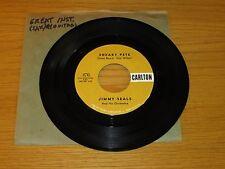 "INSTRUMENTAL 45 RPM - JIMMY SEALS - CARLTON 470 - ""SNEAKY PETE"" + ""BENGUELA"""
