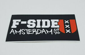 AFC Ajax F-Side Amsterdam 1976 Sticker Soccer Football
