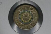 2017 - Australian 2 Dollar Coin - $2 - Lest We Forget  - aUNC
