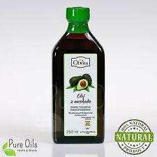 Avocado oil, cold-pressed and crude, Olej z Awokado, Ol�€™Vita 250ml