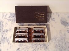 Vintage French Jean Couzon Boxed Knife Rests - Cutlery, Tableware (4037)