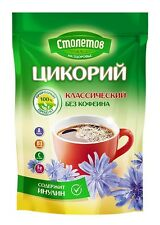 Instant chicory, all natural caffeine-free coffee substitute Цикорий растворимый