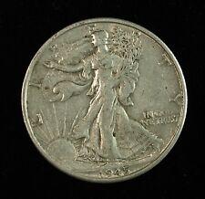 1945 S Walking Liberty Silver Half Dollar ☆☆ Circulated ☆☆