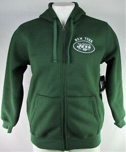 New York Jets NFL G-III Men's Knit Fleece Lined Full-Zip Hooded Sweater