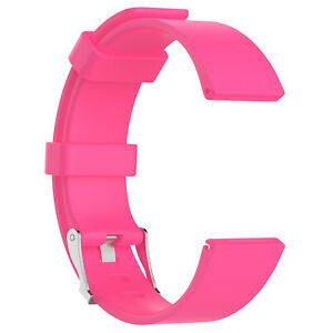 Replacement Classic Wristband Metal Buckle Strap Bracelet for Fitbit Versa LG SM