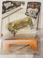 """TECH DECK  - Mini Skateboard  - PLAN B """"Paul Rodriguez"""" - Fingerboard New Sealed"""
