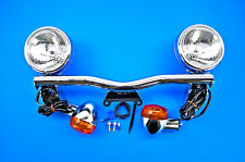 06-15 Vulcan 900 VN900 Cobra Chrome Lightbar w/Spotlights 04-0467