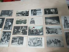 Rare Collection of 19 Russian Antique Postcards, Politicians, Theater Etc.  #B