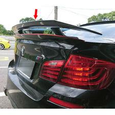 Matte Black FOR BMW F10 4D Sedan 5-Series TX Look Rear Trunk Spoiler 2010-2016