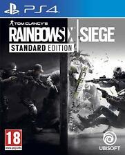 TOM CLANCY'S RAINBOW SIX SIEGE PS4 Playstation 4 NUOVO ITA