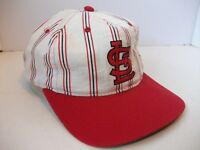 Vintage St Louis Cardinals Starter Hat Pinstripe Snapback MLB Baseball Cap