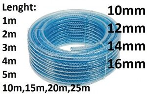Fuel Pipe Reinforced Hose Rubber Oil Size 10-12-14-16mm Length up to 25m